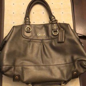 COACH Ashley Satchel Handbag Shoulder Bag F17130